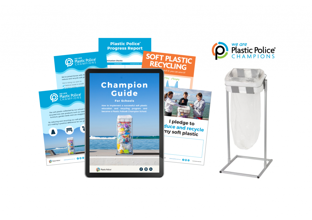 Plastic Police Starter Pack for Schools